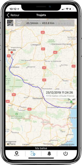 application mobile jelocalise